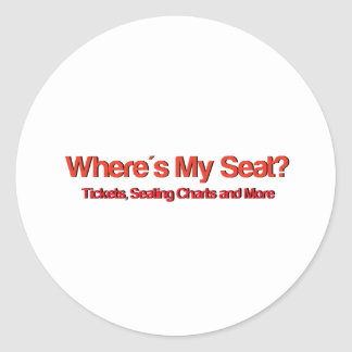 Wheres私の座席Logo.jpg ラウンドシール