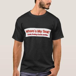 Wheres私の座席Logo.jpg Tシャツ