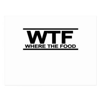 wheres食糧T-Shirt.png ポストカード