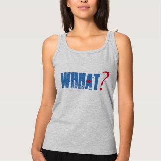 whhatのおもしろいなTシャツのデザイン タンクトップ