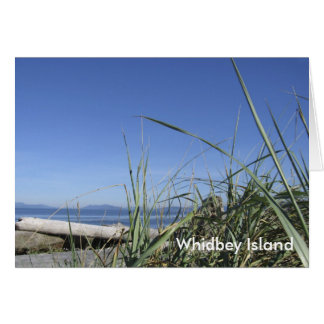 whidbeyの島の景色 カード