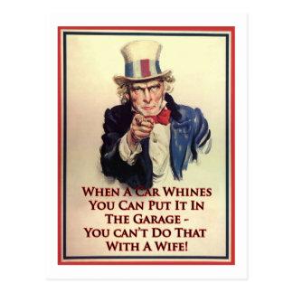 Whingingの米国市民ポスター ポストカード