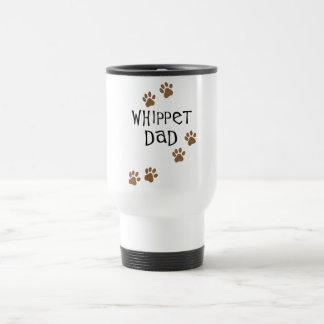Whippet犬のパパのためのWhippetのパパ トラベルマグ