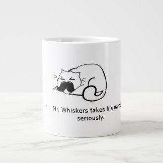 Whiskers氏 ジャンボコーヒーマグカップ