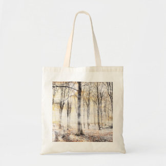 Whispering woodland in autumn fall トートバッグ