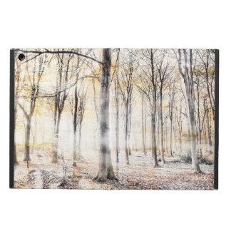 Whispering woodland in autumn fall iPad airケース