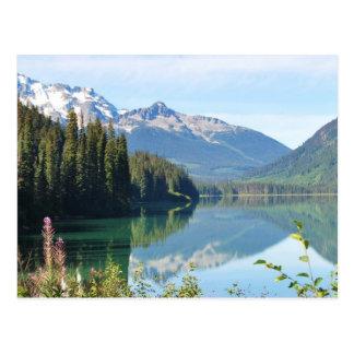 whistler湖 ポストカード