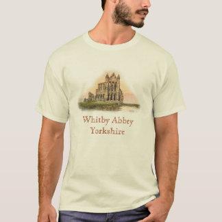 Whitbyの大修道院のTシャツ Tシャツ