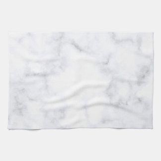 White Marble キッチンタオル