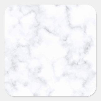 White Marble スクエアシール