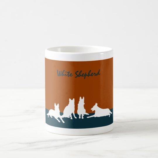 White Shepherd コーヒーマグカップ