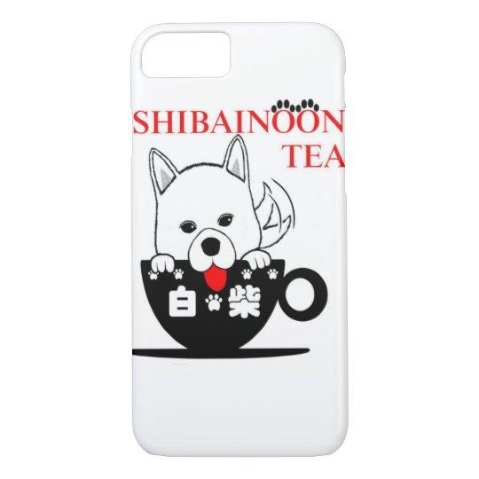 White Shibe Inu  しろしば iPhone 8/7ケース