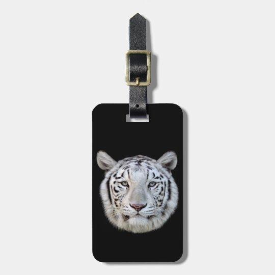 White tiger ラゲッジタグ