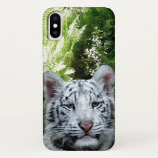 White Tiger iPhone X ケース