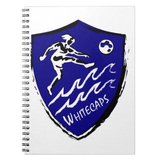 Whitecapsの女性のサッカーチーム ノートブック