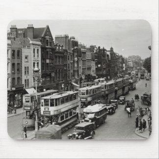 Whitechapelの本町通り、ロンドン、c.1930 マウスパッド