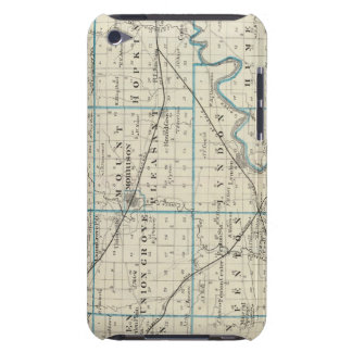 Whiteside郡の地図 Case-Mate iPod Touch ケース