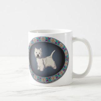 WhiteTerrierの西の高地のマグ コーヒーマグカップ