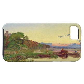 Whitlingham、ノーフォーク1860年(キャンバスの油) iPhone 5 カバー