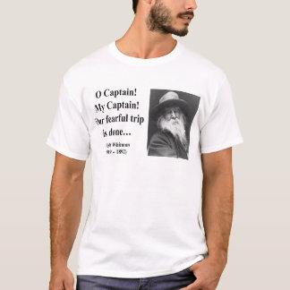 Whitmanの引用文8b Tシャツ