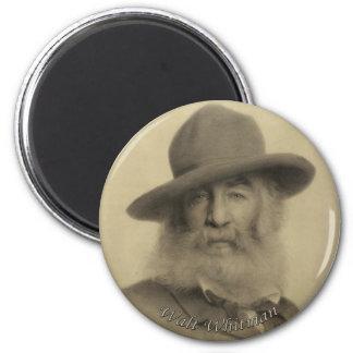 Whitmanよい灰色の詩人 マグネット