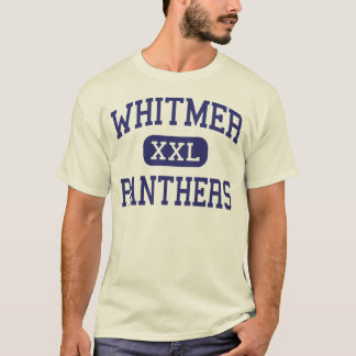 Whitmer -ヒョウ-高等学校-トレドオハイオ州 tシャツ