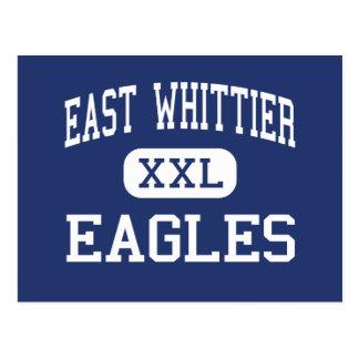 Whittier東のイーグルスの中間Whittier ポストカード