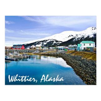 Whittier、アラスカ、米国 ポストカード