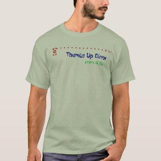 WHOか。か。か。 親指はダイナーを持ち上げます Tシャツ