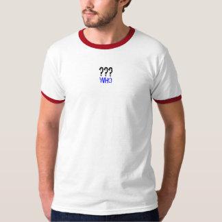 WHOの信号器 Tシャツ