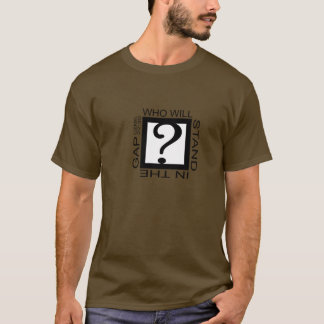 WHOはギャップに立ちます Tシャツ