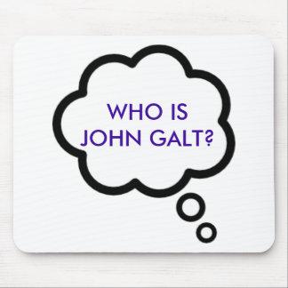 WHOジョンはGALTですか。 思考の雲 マウスパッド