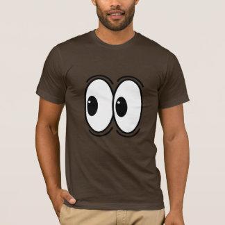 whoa一見は向こうにカスタマイズ可能注目します tシャツ