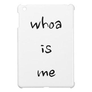 """""""whoa私は""""あります-モデルかサイズを選んで下さい iPad miniカバー"""