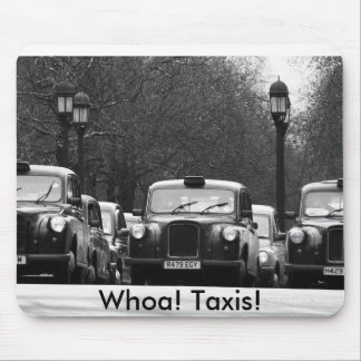 Whoa! タクシー! マウスパッド