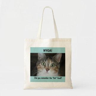 Whoa! 猫 トートバッグ