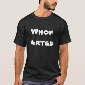 Whof Arted Tシャツ