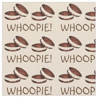 Whoopie! お祝いチョコレートWhoopieパイ生地 ファブリック