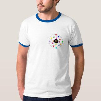 WHSのモザイク螺線形のデザイン Tシャツ