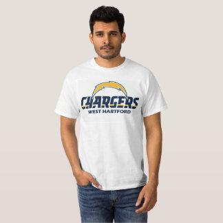 WHYFLの充電器メンズTシャツ Tシャツ