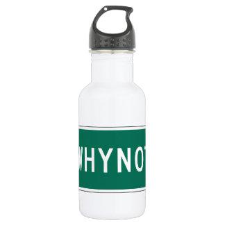 Whynotの道のマーカー、ノースカロライナ、米国 ウォーターボトル