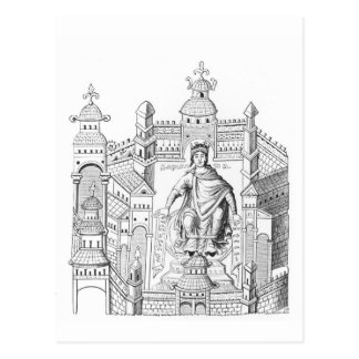 Wiを具現する彼の宮殿のCarlovingian王 ポストカード