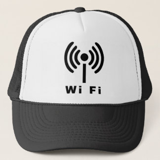 Wi Fiの記号 キャップ