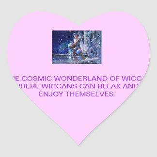 WICCAの宇宙不思議の国 ハートシール