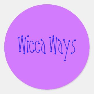 Wiccaの方法 ラウンドシール