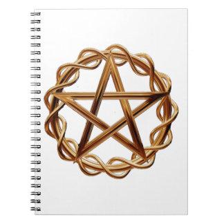 Wiccaの編まれた五芒星 ノートブック