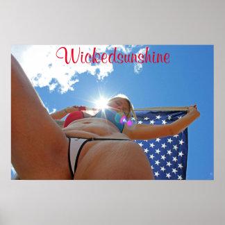Wickedsunshineのビキニポスター ポスター