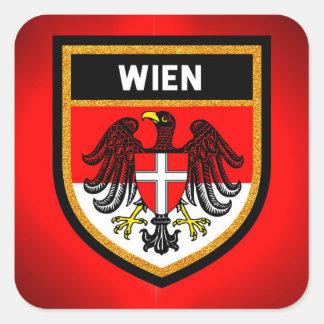 Wienの旗 スクエアシール