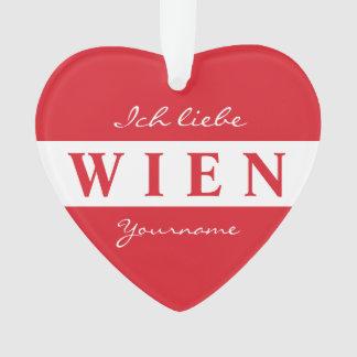 Wien -ウィーンのカスタムなモノグラムのオーナメント オーナメント