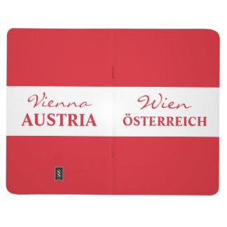 Wien -ウィーンのカスタムなモノグラムのポケットジャーナル ポケットジャーナル